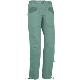 E9 Rondo Slim Trousers Men sage green